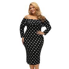 2019 2018 <b>New Autumn</b> Big Size Fat <b>Women'S Off</b> Shoulder Dress ...