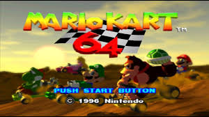 Nintendo 64 Longplay [002] <b>Mario Kart 64</b> - YouTube