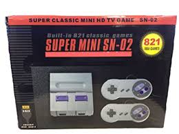 SNES Game Classic Built in 821 Mini Edition - WTH ... - Amazon.com