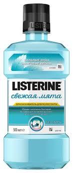 Купить <b>ополаскиватель</b> для полости рта <b>свежая мята LISTERINE</b> ...
