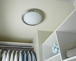 closet light bulb fixture closet light fixtures best closet lighting