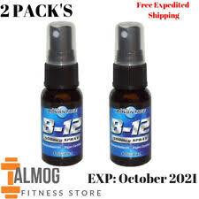 Витамин <b>B12 спрей</b>, унисекс, витамины и минералы | eBay