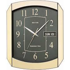 Кварцевые <b>настенные часы</b> с боем <b>Rhythm CFH102NR18</b> купить ...