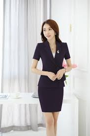 spring summer suit short sleeved occupation overalls slim business spring summer suit short sleeved occupation overalls slim business interview ladies designer skirt suits business for