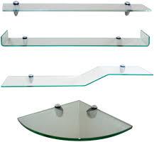 bathroom tempered glass shelf: buy preconfigured shelf kits glass shelf kits options