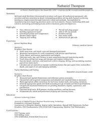 machinist resume sample resume cnc programmer resume sle senior machinist cnc programmer resume