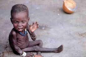 Image result for imágenes del hambre, niña
