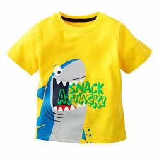 <b>Summer Children</b> Boy Short Sleeve <b>T shirt</b> Camera Printed Kids ...