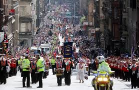 'Fenian <b>b</b>**<b>tard</b>': Catholic priest spat on as Orange parade passed ...