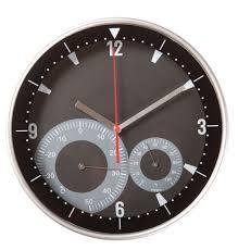 Купить оптом <b>Часы настенные Rule с</b> термометром и ...