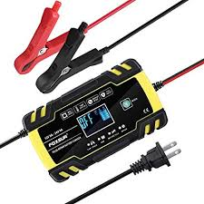 Automatic Smart Battery Charger/Maintainer <b>12V</b>/<b>8A</b> 24V/<b>4A</b> Pulse ...
