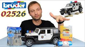 <b>Bruder Внедорожник Jeep</b> Wrangler Unlimited Rubicon Полиция с ...