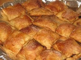 Appel dumplings uit de oven
