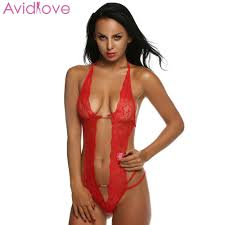 Avidlove <b>Women Sexy Lingerie Hot</b> Erotic Lace Mini Teddy Sexy ...