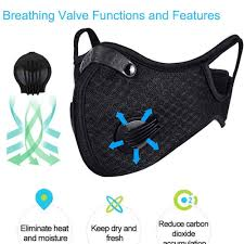 <b>Dustproof Sports Mask</b> - Activated Carbon- Buy Online in Costa Rica ...
