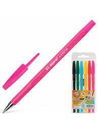 Ручки <b>шариковые</b> Набор 6 шт., Ассорти, Wmz, узел 1,2 мм, линия ...
