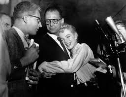 marilyn monroe arthur miller muses lovers the red list arthur miller and marilyn monroe 1956