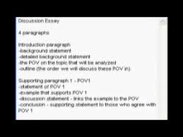 how to structure a discussion essay   youtube how to structure a discussion essay