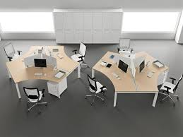 home office astonishing office room design with light brown top cubicles plus black white wheeled chairs combine with grey floor and white cabinet astonishing modern office furniture atlanta