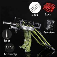 Professional <b>Catapult Full Set</b> Fishing <b>Slingshot</b> Arrow Laser ...