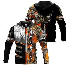 Bow Hunter Orange Camo <b>3D</b> All Over Printed Shirts for Men and ...