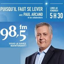 Puisqu'il faut se lever - 98,5fm Montréal
