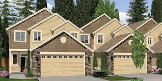 Plex House Plans  Multiplexes  QuadPlex PlansF  plex house plans  master bedroom on main  unit townhouse