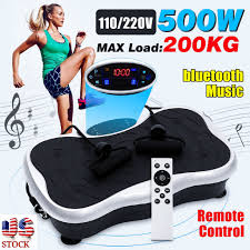 <b>200KG</b>/<b>441LBS Exercise Fitness Slim</b> Vibration Machine Trainer ...
