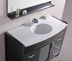 element contemporary bathroom vanity set:  bathroom vanity set white stone top