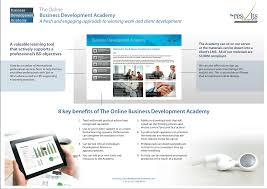 e learning through the online business development academy see an overview of the online business development academy