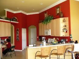 room paint red: nice elegant design kitchen room paint colors that can be decor with warm lighting can add