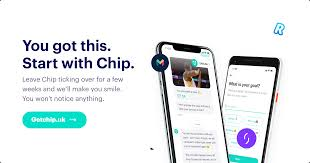 <b>Chip</b> - You can do anything. Start by putting money aside.