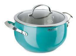 Купить <b>Кастрюля</b> Rondell Turquoise <b>5</b>,<b>8 л</b>, голубой по низкой цене ...