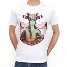 QOTSA - Camiseta Masculina Branca