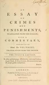 essay on crimes and punishments indexessay on crimes and punishments djvu   wikisource