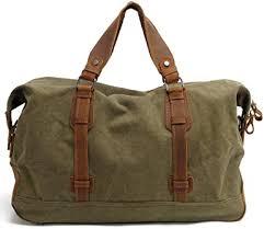 Travel bag small canvas handbag leisure travel ... - Amazon.com