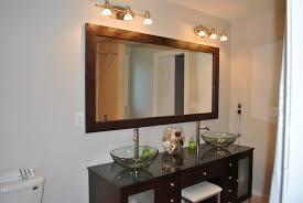 bathroom mirrors frame molding