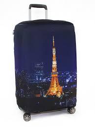 <b>Чехол для чемодана</b>, Размер M 65х75 см, серия Ciy, дизайн Paris ...