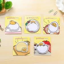<b>1pack</b>/<b>lot Cute Cartoon</b> Gudetama message Notepad Lazy Egg ...