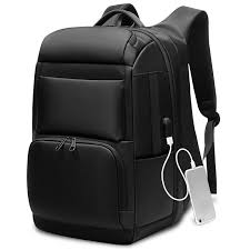 men's backpacks USB interface <b>Shoulders</b> Anti-theft Travel ...