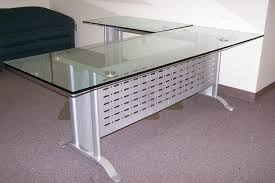 glass l shaped office desk. amazing desk traditional home office furniture the t shaped glass l s