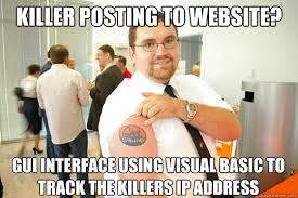 Killer Posting to website? GUI interface using visual basic to ... via Relatably.com