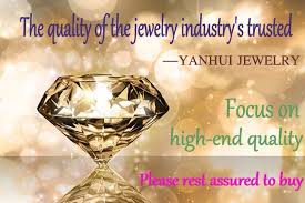 <b>YANHUI Original 925 Solid</b> Silver Rings Gold Color Solitaire CZ ...
