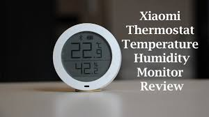 <b>Xiaomi</b> Mijia <b>Thermostat Accuracy Temperature</b> Humidity Monitor ...