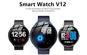 <b>Kospet V12 Leather</b> Smartwatch For Just $15.99 [Flash Deal]