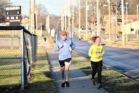 mcnears are boston bound news sports jobs morning journal submitted photo tom and megan mcnear of lake tomahawk are off on a training run in
