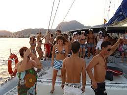 fiestas en barco