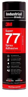3M™ Super 77™ <b>Multipurpose</b> Spray <b>Adhesive</b> | 3M United States