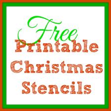 printable christmas stencils christmas tree templates christmas templates