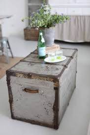 room vintage chest coffee table: using an old trunk as a coffee table love this